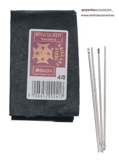 Aghi sellaio special.  Special saddler's needles #CentroAccessori