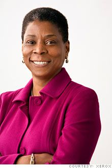 Ursula Burns, CEO, Xerox
