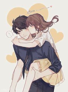 Anime kiss Create of the list of manga you've seen and find new manga plus more on Anime-Planet. Anime Couple Love, Couple Anime Manga, Couple Amour Anime, Anime Cupples, Romantic Anime Couples, Anime Couples Drawings, Anime Couples Manga, Fanarts Anime, Anime Guys