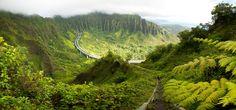 Rather places I'd like to run....Haiku Stairs, Oahu Hawaii