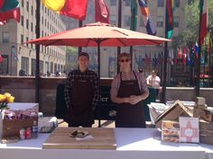 yesterday kicked off rockefeller center's restaurant days! catch us again today and tomorrow from 11:00am-3:00pm. #nyc  click here for event details: http://bit.ly/1j1y8Y7