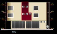 مبنى مختلط مطعم و إقامة أوتوكاد dwg
