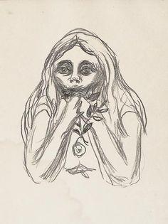 Omega's Eyes - Edvard Munch