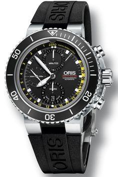 Master Horologer: Oris Aquis Depth Gauge Chronograph