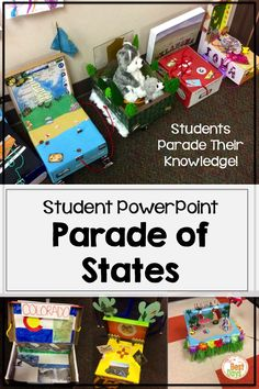 Have students create a box about a state and present to the class about that state Social Studies Projects, 3rd Grade Social Studies, Social Studies Notebook, Social Studies Classroom, Social Studies Activities, History Classroom, Teaching Social Studies, History Education, Teaching History