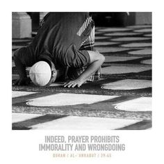 Prayer: a shield against wrongdoing