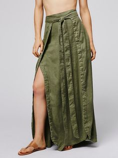 American Ride Maxi Skirt from Free People!