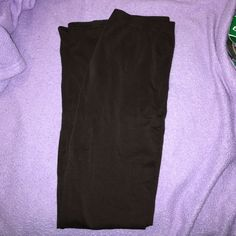 NWOT Brown Leggings CR tights. Never worn but w/o tags. Fits S-M Charlotte Russe Pants Leggings