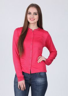Nun Solid Women's Tunic... Stylish front-buttoned wear... good for nursing mothers.