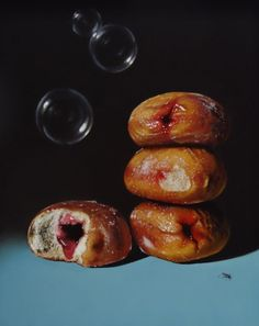 Lucy Crick | Jam Donuts with Soap Bubbles and Ant