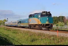 RailPictures.Net Photo: VIA 6436 VIA Rail EMD F40PH-3 at Barrhaven, Ontario, Canada by Steve Arnot