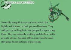 Pokemon Personalities: Rayquaza