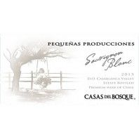 Casas del Bosque Casablanca Pequeñas Producciones Sauvignon Blanc 2015 - Featured September Wine 2017 #wine #sauvignonblanc #casasdelbosque  #gift