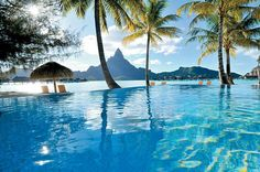 Bora Bora infinite pool