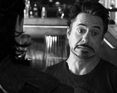 Tony Stark confronts Loki.   Totally faking it with unknown backup and not knowing when the Mark VII will be ready.   Classic.