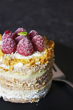 Vanilla & White Chocolate Layer Cake