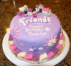 LEGO Friends Cake in the Group Board LEGO® LOVE http://www.pinterest.com/yourfrenchtouch/lego-love - If you ♥ LEGO®, come and have a look at the crowdest LEGO® LOVE group board http://www.pinterest.com/yourfrenchtouch/lego-love #LEGO