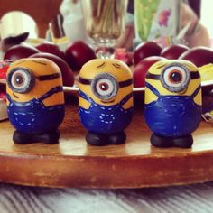Minions from Kinder suprise eggs by #Mopfactory