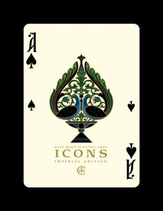 """""""ICONS"""" Imperial Edition playing cards by United Cardists — Kickstarter"""