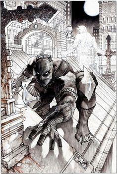 Black Panther by Simone Bianchi