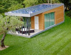 Green Zero is a Spacious Modular Getaway That Puts The Garden Shed to Shame | Inhabitat - Sustainable Design Innovation, Eco Architecture, G...