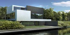 Dom jednorodzinny / single family housePowierzchnia użytkowa/usable area: 320m kw.Lokalizacja / location: Drawsko LakeStatus:koncepcja / conceptData projektu / date: 2008
