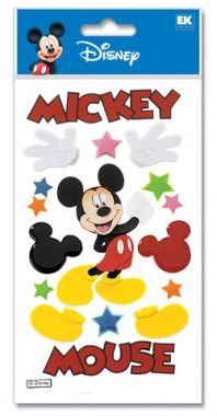 Disney scrapbooking sticker Mickey item DJBM001.    $1.75