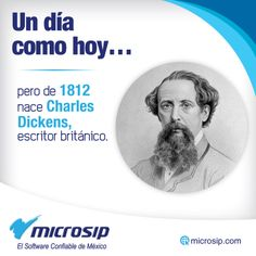Un día como hoy, 7 de febrero, pero de 1812 nace Charles Dickens, escritor británico.