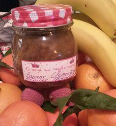 Confiture de Bananes clémentines, aux fleurs d'épices chocolat