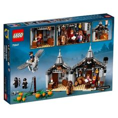 Shop LEGO Harry Potter Wizarding World Hagrid's Hut: Buckbeak's Rescue 75947 at Best Buy. Find low everyday prices and buy online for delivery or in-store pick-up. Lego Harry Potter, Theme Harry Potter, Harry Potter Gifts, Shop Lego, Buy Lego, Ron Weasley, Lego Sets For Boys, Hagrids Hut, Light Brick