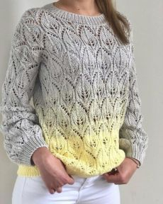 (notitle) - Knitting & Crochet - Fairytales of wool - Stricken Summer Knitting, Easy Knitting, Knitting Stitches, Hand Knitted Sweaters, Knit Shirt, Crochet Clothes, Knitting Patterns, Crochet Patterns, Knit Crochet