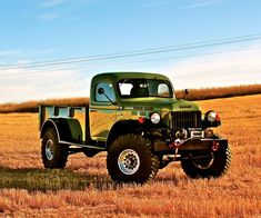 Dodge Power Wagon, I have actually seen this truck!