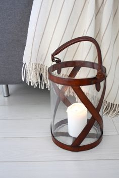 homevialaura #balmuir #lantern #blanket. I used to have grey painted pinewood floors.. Loved them.