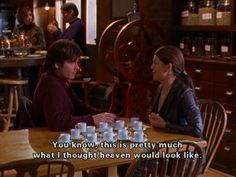 Lorelai's coffee heaven