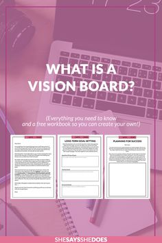 WHAT IS A VISION BOARD?Everyone talks about vision boards but what are they and how do you use them? I tell you everything you need to know to get started and create your own. Head over to the blog now to get started.
