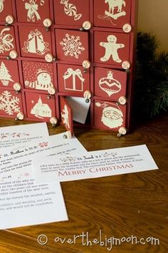 Christmas Scripture Advent Free Printable