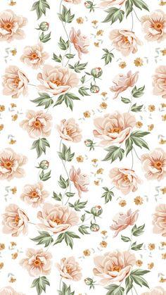 Vintage Flowers Wallpaper, Flowery Wallpaper, Cute Wallpaper For Phone, Flower Phone Wallpaper, Iphone Background Wallpaper, Pattern Wallpaper, Walpapper Tumblr, Wallpapers Whatsapp, Story Instagram