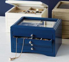 Andover Small Jewelry Box | Pottery Barn