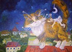 Dan casado коты: 1 тыс изображений найдено в Яндекс.Картинках Cat 2, Painting, Painting Art, Paintings, Painted Canvas, Drawings
