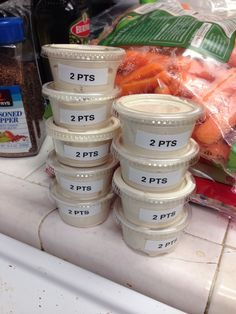 Lipton onion soup mix with regular sour cream. Great dip for veggies. Weight watchers PTS = 2