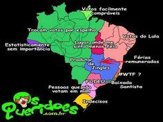 Brasil do ponto de vista dos políticos
