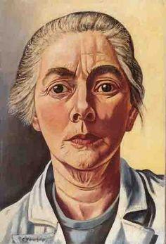 Charley Toorop, zelfportret