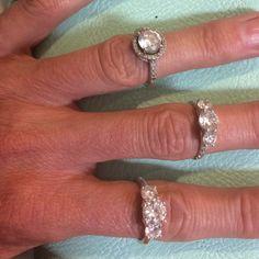CZ rings Beautiful!!!! Jewelry Rings