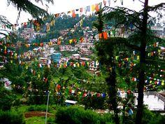 Dharmasala, India home of the Dalai Lama