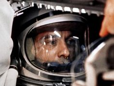 On May 5, 1961, NASA launched the first American into space.  Alan Shepard took his historic ride in a Freedom 7 capsule, powered by a Redstone missile rocket.