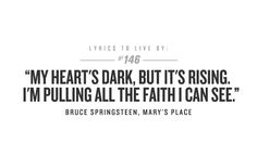 Bruce Springsteen On Pinterest Born To Run Lyrics And Boss