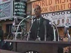 """Malcolm X, Dir: Spike Lee (film); Book: """"The Autobiography of Malcolm X"""" as told to Alex Haley"""