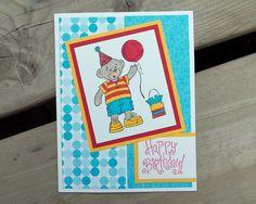Childrens Birthday Card  Handmade  Build a by saltonscovestudio on Etsy