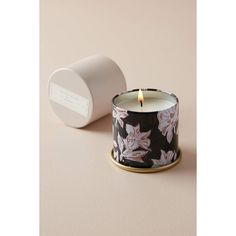 Magnolia Home Mini Tin Candle ($10) ❤ liked on Polyvore featuring home, home decor, candles & candleholders, pink, lily candles, tin candles, floral candles, eucalyptus candle and patchouli candles