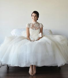 Wedding dress shopping can be equal parts fun and heartache. The industry (like many others) has its own language and as an outsider it can be uncomfortable coming in as a newby. To avoid being overwhelmed Team Wedding recommends that you prepare by first learning the key parts of a wedding dress. The second thing ...